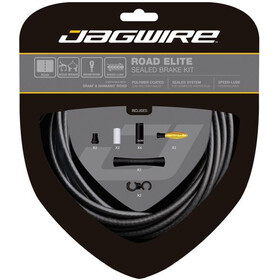 Jagwire Road Elite Sealed Kit cavo freno, stealth black